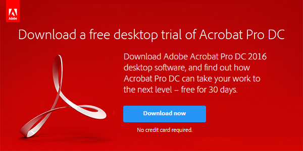 "Comments on ""acrobat pro, standard, reader dc 2016/2015: direct."